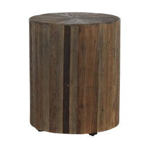 Cyrano Dark Elm Side Table