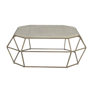 Thorton Cream and Champagne Coffee Table