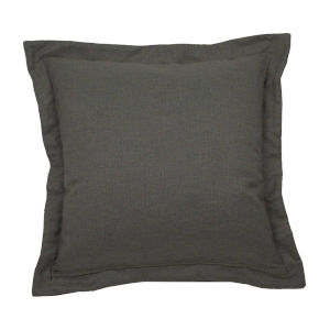 Stone and Melange 17 x 17 Inch Pillow with Double Flange