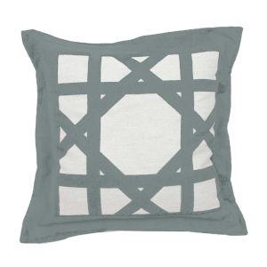 Cane 20-Inch Mist Throw Pillow