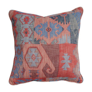 Kilim Cajun and Almond 20 x 20 Inch Pillow