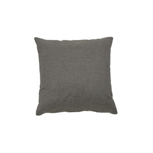 Nobu 22-Inch Pewter Throw Pillow
