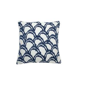 Alena 22-Inch Indigo Throw Pillow