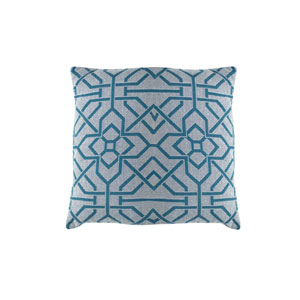Port Palace 22-Inch Reef Throw Pillow