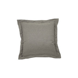 Cane 22-Inch Midnight and Pewter Throw Pillow