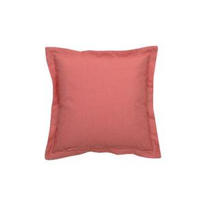 Cane 22-Inch Indigo and Flamingo Throw Pillow