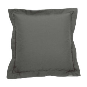 Verona Pewter 22 x 22 Inch Pillow with Double Flange