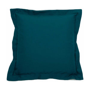 Premier Reef and Snow 22 x 22 Inch Pillow with Linen Double Flange