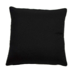 Midnight 22 x 22 Inch Pillow with Double Flange