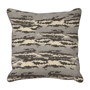 Birch Almond 22 x 22 Inch Pillow with Mohave Welt