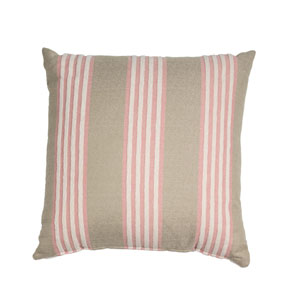 Bradford Stripe 22-Inch Sage Throw Pillow