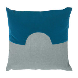 Eclipse Reef and Mist 22 x 22 Inch Pillow with Knife Edge