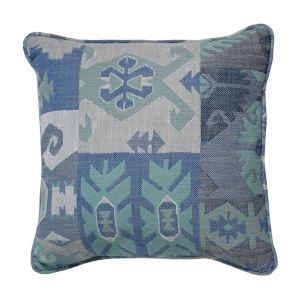 Kilim Mist 22 x 22 Inch Pillow