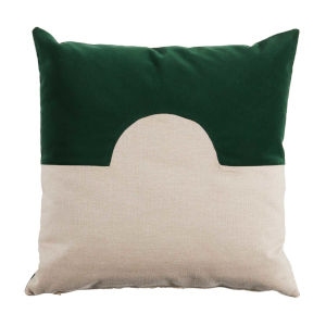 Eclipse Mallard and Almond 22 x 22 Inch Pillow with Knife Edge