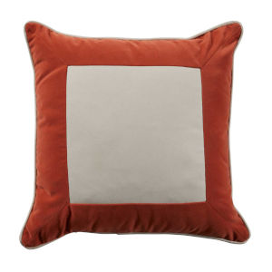 Lux Terra Cotta 22 x 22 Inch Pillow