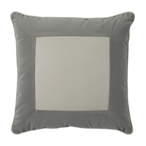 Lux Pewter 22 x 22 Inch Pillow