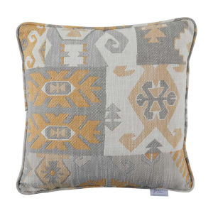 Kilim Mustard 22 x 22 Inch Pillow