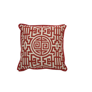 Nobu 24-Inch Cajun Printed Throw Pillow