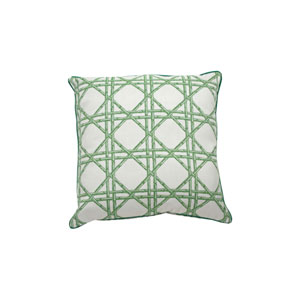Reign 24-Inch Emerald Throw Pillow