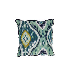 Manado Ikat 24-Inch Reef Throw Pillow