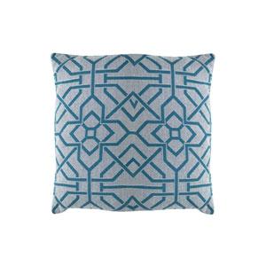 Port Palace 24-Inch Reef Geometric Throw Pillow