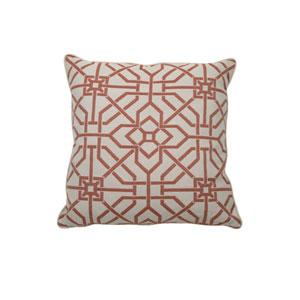 Port Palace 24-Inch Cajun Geometric Throw Pillow