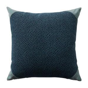 Mist 24 x 24 Inch Pillow with Velvet Corner Cap