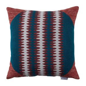 Squiggle Cajun 24 x 24 Inch Pillow with Corner Cap