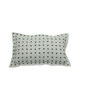 Kuno Emerald Throw Pillow