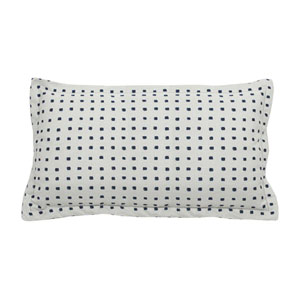 Kuno 24-Inch Indigo Throw Pillow