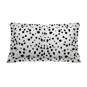 Spotty 24-Inch Midnight Throw Pillow
