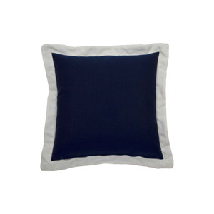 Spotty 24-Inch Indigo Throw Pillow