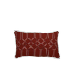 Connection 24-Inch Cajun Geometric Throw Pillow