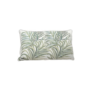 Tropico 24-Inch Mist Printed Throw Pillow