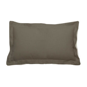 Verona Pewter 14 x 24 Inch Pillow with Double Flange
