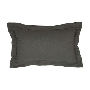 Stone and Melange 14 x 24 Inch Pillow with Double Flange