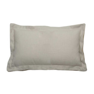 Verona Almond 14 x 24 Inch Pillow with Double Flange