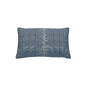 Summer Sulu 24-Inch Indigo Small Throw Pillow