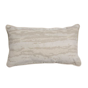 Birch Snow 14 x 24 Inch Pillow with Mohave Welt