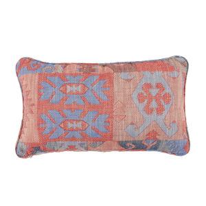 Kilim Cajun and Almond 14 x 24 Inch Pillow