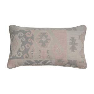 Kilim Blush 14 x 24 Inch Pillow