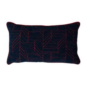 Thisbee Indigo 14 x 24 Inch Pillow with Welt