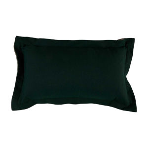 Mallard and Almond 14 x 24 Inch Pillow with Double Flange