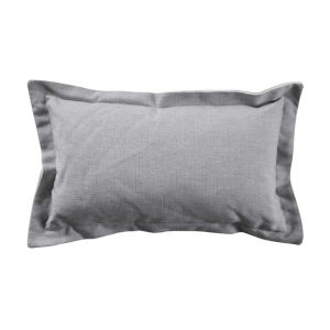 Verona Stone 14 x 24 Inch Pillow with Linen Double Flange