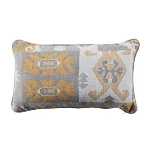 Kilim Mustard 14 x 24 Inch Pillow