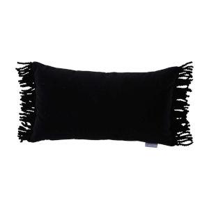 Midnight Velvet 14 x 24 Inch Pillow with Bullion