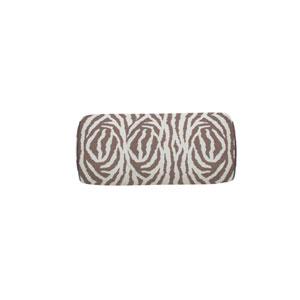 Zebra 24-Inch Almond Small Throw Pillow