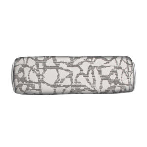 Surge Pewter 7 x 24 Inch Pillow with Welt