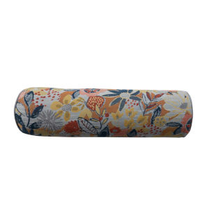 Garden Mustard and Chambray 7 x 24 Inch Pillow with Lure Welt