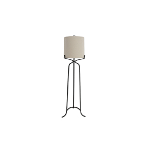 Elena Antique Bronze One-Light Floor Lamp